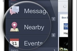 Facebook Nearby is not a Foursquare killer yet | The Perfect Storm Team | Scoop.it