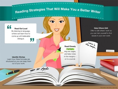 7 Ways To Become A Better Reader And Writer | Visual*~*Revolution | Scoop.it