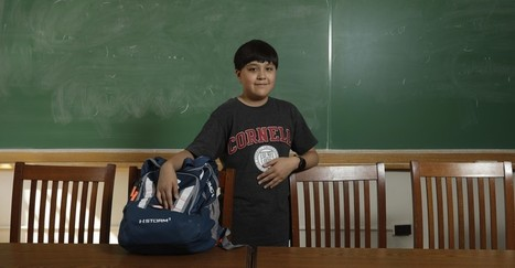 The 12-Year-Old Freshman at Cornell | Safe Family News! | Scoop.it