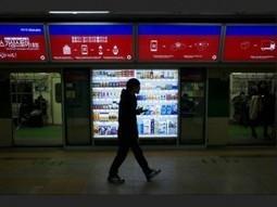 6000 000 téléchargement pour les vitrines d'achats à QR codes de Homeplus à Séoul. | Mobile & Magasins | Scoop.it