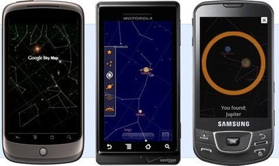 Google Sky Map for Android   Edulateral   Scoop.it
