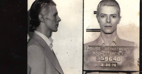 The Story Behind David Bowie's Legendary Mugshot | Rocky Mountain Entrepreneurs Succeed | Scoop.it