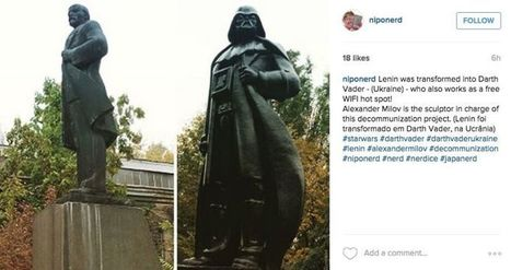 Statue of Leader From Communist Empire Transformed Into Leader of Actual Empire | News we like | Scoop.it