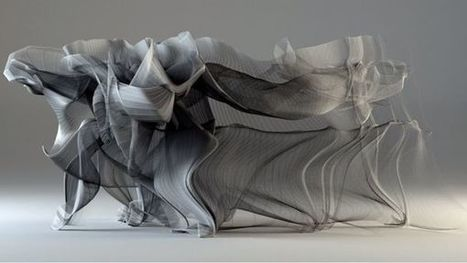 Beautiful Visualization Captures The Motions Of A Kung Fu Fighter | Socialart | Scoop.it