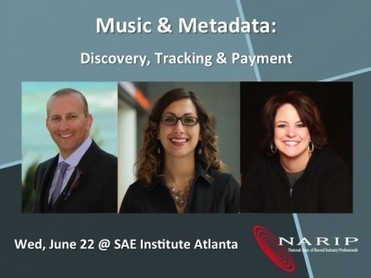 Upcoming Events In Atlanta – Music & Metadata: Discovery, Tracking & Payment | NARIP | Music & Metadata - un enjeu de diversité culturelle | Scoop.it