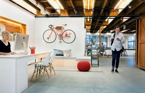 Bois et design dans les nouveaux bureaux de la
