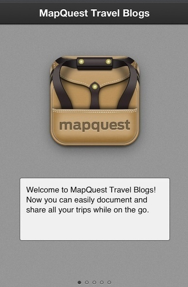 MapQuest Travel Blogs iOS app: Capture and share your journeys | SOCIALFAVE - Complete #SMM platform to organize, discover, increase, engage and save time the smartest way. #TOP10 #Twitter platforms | Scoop.it