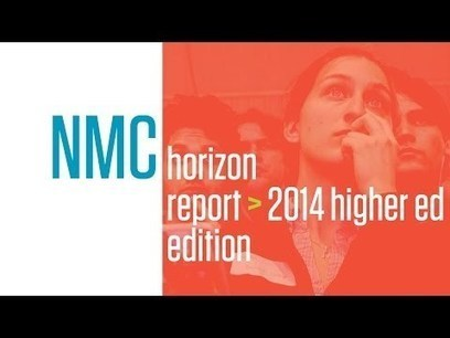 It's Here! The NMC Horizon Report > 2014 Higher Education Edition | Playful Learning | Scoop.it