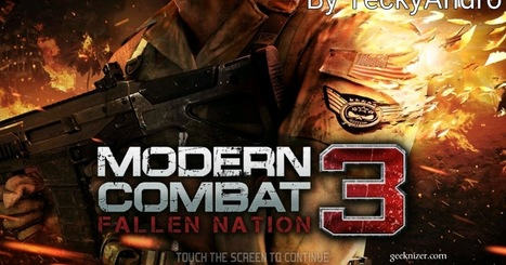 modern combat 3 full apk and obb