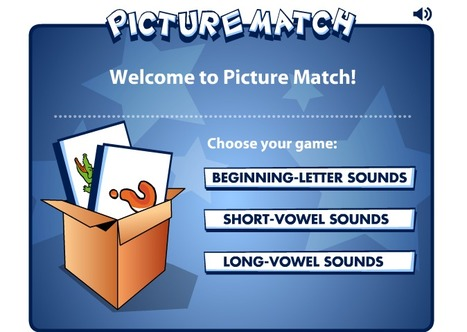 Picture Match -Matching Game for Young Learners | EFL Kids | Scoop.it
