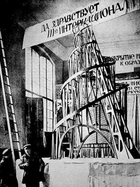 La desaparición del Monumento a la Tercera Internacional en la historiografía de la arquitectura moderna | retail and design | Scoop.it