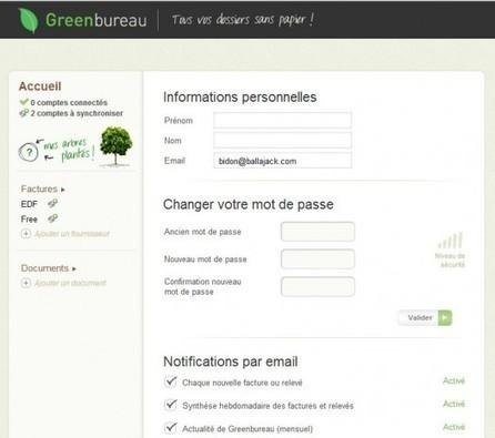 Centraliser toutes ses factures sur un seul site, Greenbureau | Ca m'interpelle... | Scoop.it