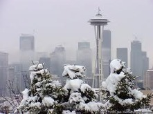 """Snowmageddon!""  Snowfall Records Smashed in Seattle/90,000 W/Out Power 