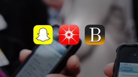Apps to Compete With Snapchat in Temporary Messaging | New York Times | How to Use an iPhone Well | Scoop.it