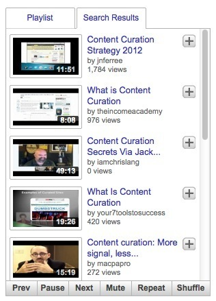 Create YoutTube Video Playlists with YTPlaylist | Content Curation for NonProfits | Scoop.it
