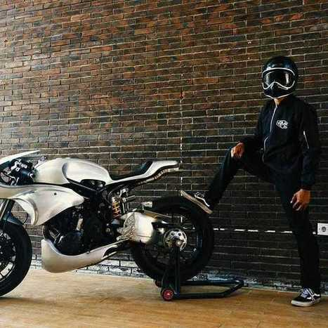 Outstanding 2012 Kawasaki Z1000 Cafe Racer Grease N Gasol Andrewgaddart Wooden Chair Designs For Living Room Andrewgaddartcom
