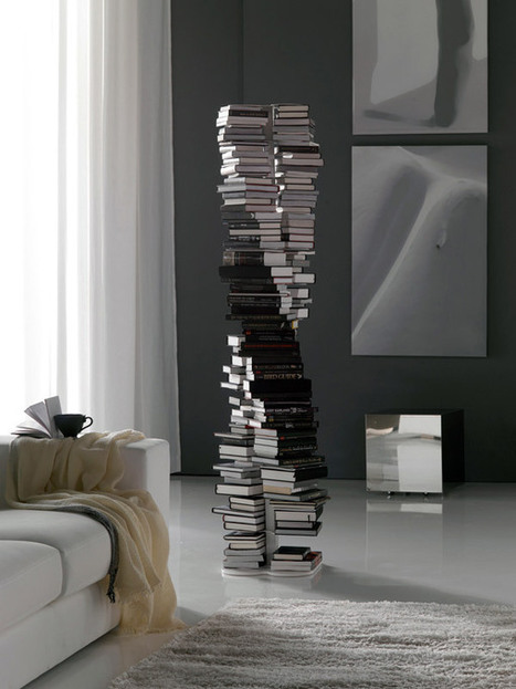 DNA DoubleHelix Bookcase | Art, Design and Technology | Scoop.it