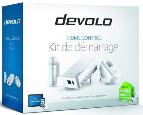 Présentation du kit domotique Home Control de Devolo. | Nalaweb | Scoop.it