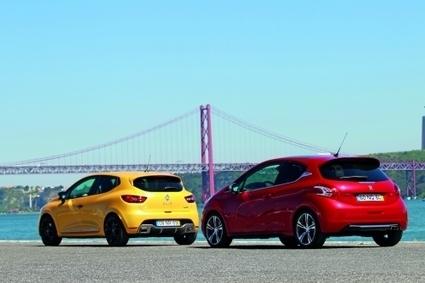«Gauleses em pé de guerra»: Peugeot 208 GTI vs. Renault Clio RS | Motores | Scoop.it