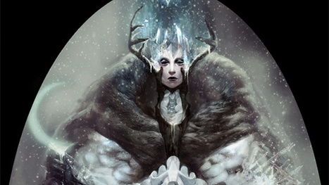 We can only hope Frozen is half as lovely as these Snow Queen illustrations | Animation News | Scoop.it