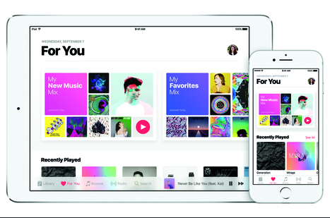 Apple Music Hits 20 Million Subscribers; Execs Want 'More, Faster -- We're Hungry!' | Musicbiz | Scoop.it