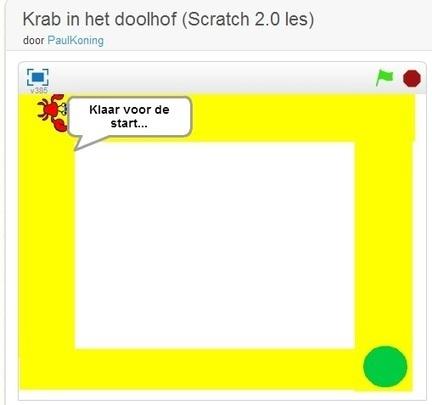 Een simpel doolhofspel met Scratch | LesWiki | Twitter in de klas | Scoop.it