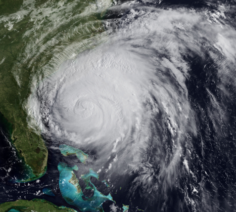 NOAA Environmental Visualization Laboratory - Category 2 Hurricane Irene Approaches the Outer Banks   Mapping NYC hurricane   Scoop.it