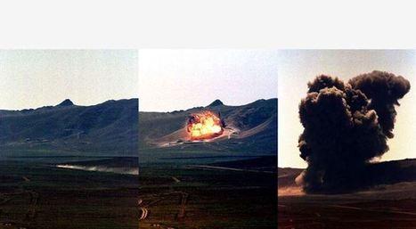 Destruction des tunnels de tir, à Semipalatinsk-21, Kazakhstan. | Fangataufa.Moruroa | Scoop.it