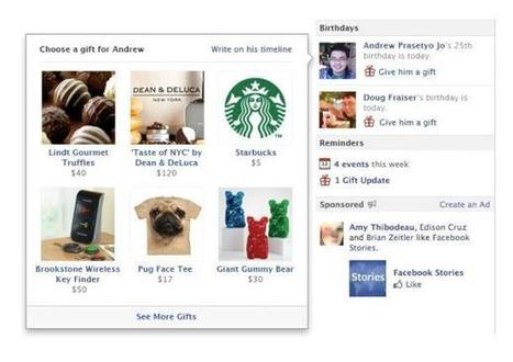 Facebook Gifts: Important but not about the money (just yet) | The Perfect Storm Team | Scoop.it