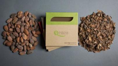 Crean packaging hecho de cáscaras de cacao | cacao | Scoop.it