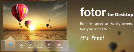 Fotor - Free Online Photo Editor | Learning and Education 2.0 | Scoop.it