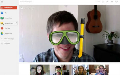 Google+ Hangouts Rolls Out New Features | social networking in higher education | Scoop.it