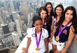 Daily News Sports Photos of the Day: Gabby Douglas and US gymnasts light up ... - New York Daily News   Sports Photography   Scoop.it