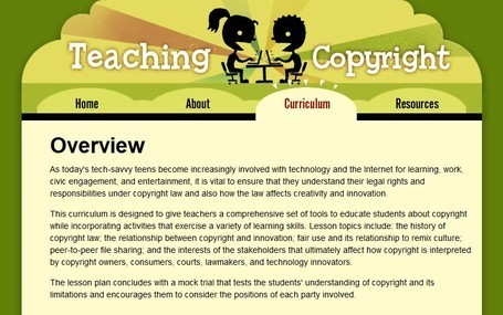 What YOU should know about Copyright | Leader of Pedagogy | Scoop.it