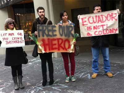 Assange supporters occupy Melbourne's UK consulate — RT | Agora Brussels World News | Scoop.it
