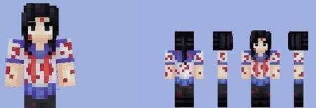 Yandere Simulator Girl Skin | Minecraft mods do