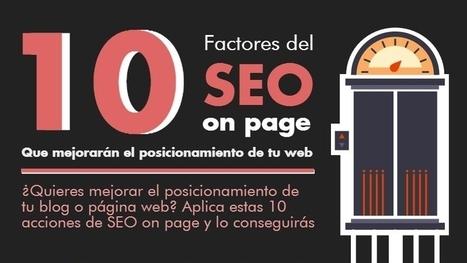 10 Factores de SEO on page que mejorarán tu posicionamiento web | Web Hosting, Linux y otras Hierbas... | Scoop.it