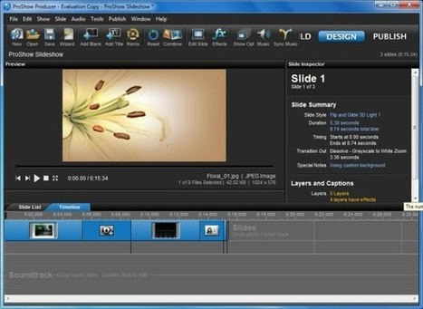Create HD Professional Slideshows With ProShow | Celebrity English | Scoop.it