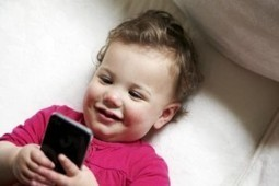 Babes in Mobileland: Study Shows Huge Percentage of Wee Ones Master Mobile Before Potty Training | Mobile Marketing | News Updates | Scoop.it