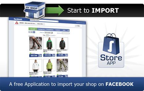 Store Tab : Créez facilement votre boutique sur Facebook | SocialWebBusiness | Scoop.it
