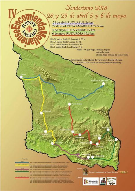 Fuente Obejuna difunde la riqueza natural de sus 14 aldeas con el Camino de la Encomienda Mellariense | Ayuntamiento de Fuente Obejuna | Blogs de naturaleza | Scoop.it
