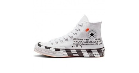 OFF WHITE x Converse Chuck 70 Stripe Wh