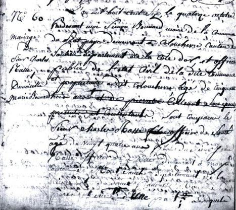 E comme Epouse | Rhit Genealogie | Scoop.it