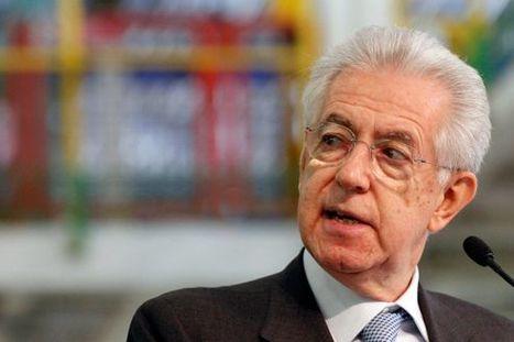 Italie : Monti, le technocrate qui a rassuré l'Europe | Union Européenne, une construction dans la tourmente | Scoop.it