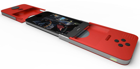 Apple iPhone gaming extention concept | All Geeks | Scoop.it