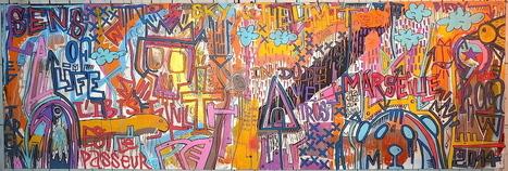 Live painting :: Jardins suspendus #2 | The art of Tarek | Scoop.it