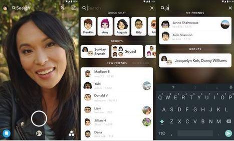 Snapchat lance son moteur de recherche universel pour faciliter les contacts | Référencement internet | Scoop.it