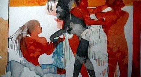 La première peinture à fresque connue de l'époque maya découverte au Guatemala | Merveilles - Marvels | Scoop.it