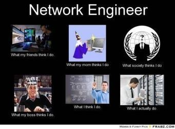 Network Engineer | What I really do | Scoop.it