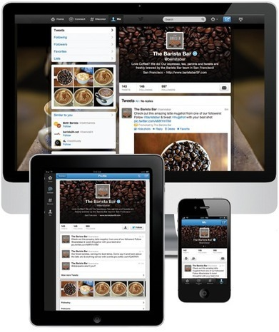 Profile pages · Twitter for Business | Online Marketing Resources | Scoop.it